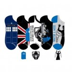 Doctor Who Women's Lowcut Socks 5 Pack Size 4-10