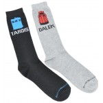 Doctor Who Mens 2 Pack  Icon Crew Socks