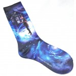 Doctor Who Womens 11th Doctor Transfer Print Crew Socks