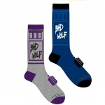 Doctor Who Bad Wolf Mens Crew Socks