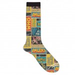 Doctor Who Comic Montage Crew Socks