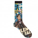 Doctor Who Comic Silence Will Fall Crew Socks