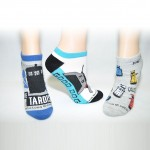 Doctor Who Ladies Classic Lowcut Socks
