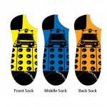 Doctor Who Ladies Dalek Lowcut Socks