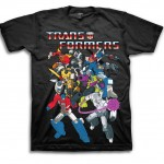 Transformers Character Group Black Adult T-Shirt