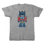 Transformers Mini Optimus Prime Manga Style Adult T-Shirt