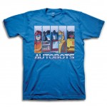 Transformers Autobots Stripes Adult T-Shirt