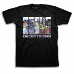 Transformers Decepticons Stripes Adult T-Shirt