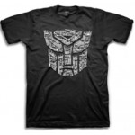 Transformers Autobot Bolts Logo Adult T-Shirt