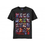 Transformers Cyber Wall Adult T-Shirt