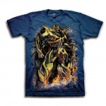 Transformers Bumblebee Styled Adult T-Shirt