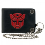 Transformers Bi-Fold Snap Chain Wallet