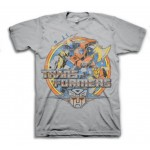 Transformers Attack Distressed Style Adult T-Shirt