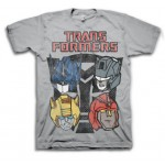 Transformers Four Heads Adult T-Shirt