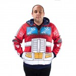 Transformers Optimus Prime Adult Hoody