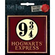 Harry Potter Hogwarts Express 9 3/4 Die Cut Fridge / Car Magnet