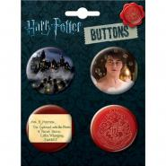 Harry Potter Button Four Pack 4