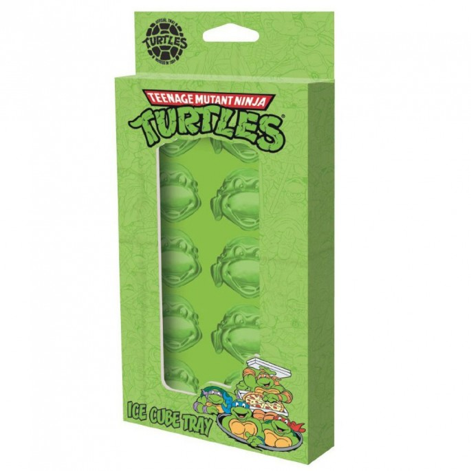 Teenage Mutant Ninja Turtles Heads Ice Cube Tray
