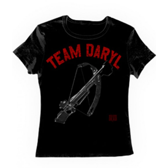 The Walking Dead Team Daryl Crossbow Women's T-Shirt