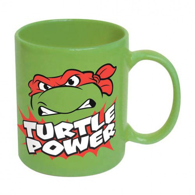 Teenage Mutant Ninja Turtles Raphael Turtle Power 16oz Mug