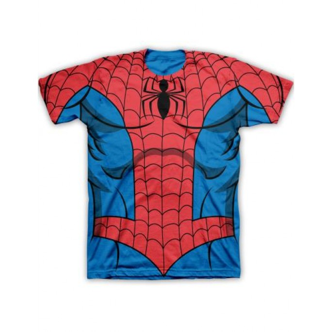 Marvel Spider-man Single Side Costume T-Shirt