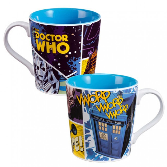 Doctor Who Comics 12 oz. Ceramic Mug