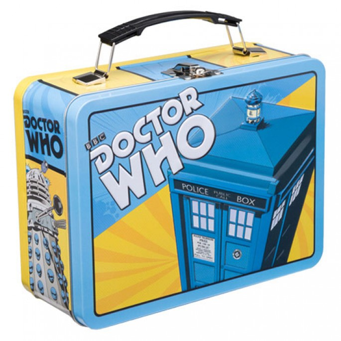 Doctor Who Comics Large Tin Tote