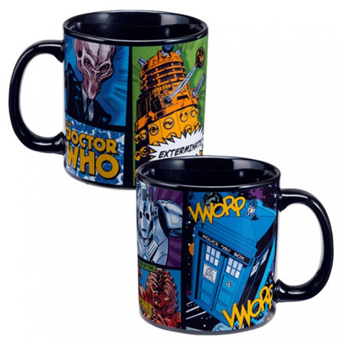 Doctor Who Comics 20 oz. Ceramic Mug