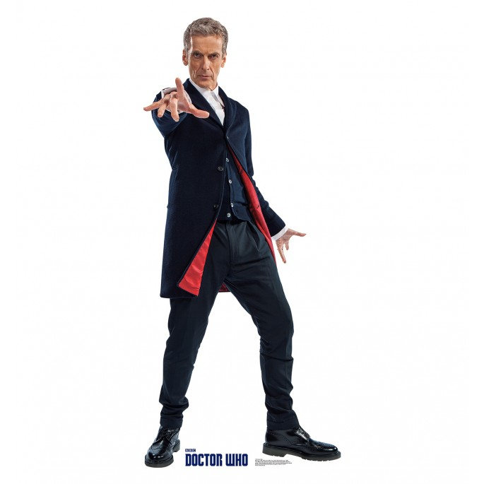 Doctor Who 12th Doctor Cardboard Standup