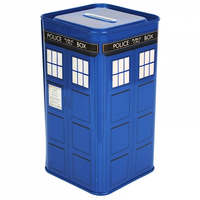 Doctor Who Tin Money Box