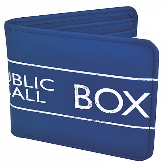Doctor Who Tardis Bifold Wallet
