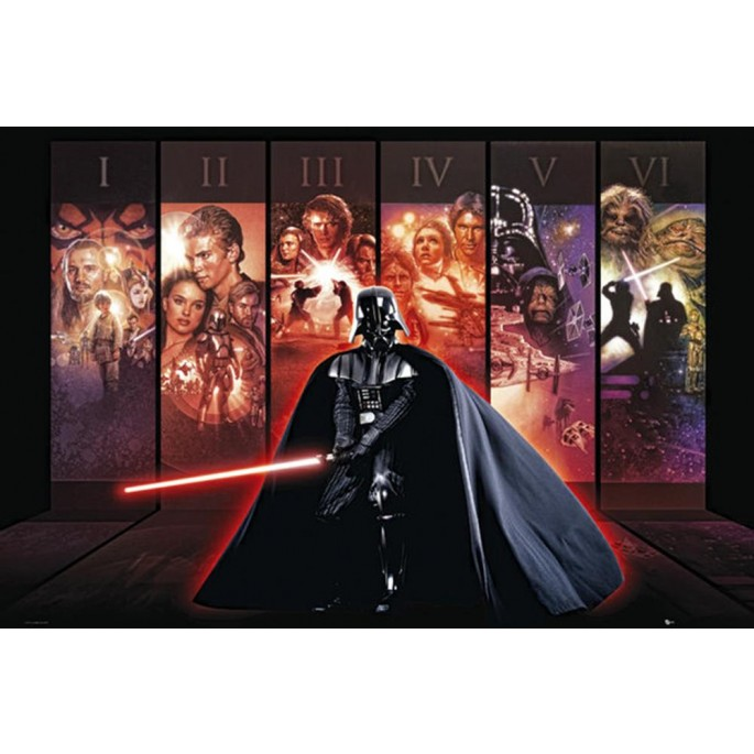 Star Wars Darth Vader Anthology Poster