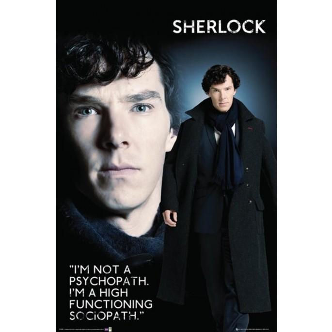 Sherlock Poster -  High Functioning Sociopath