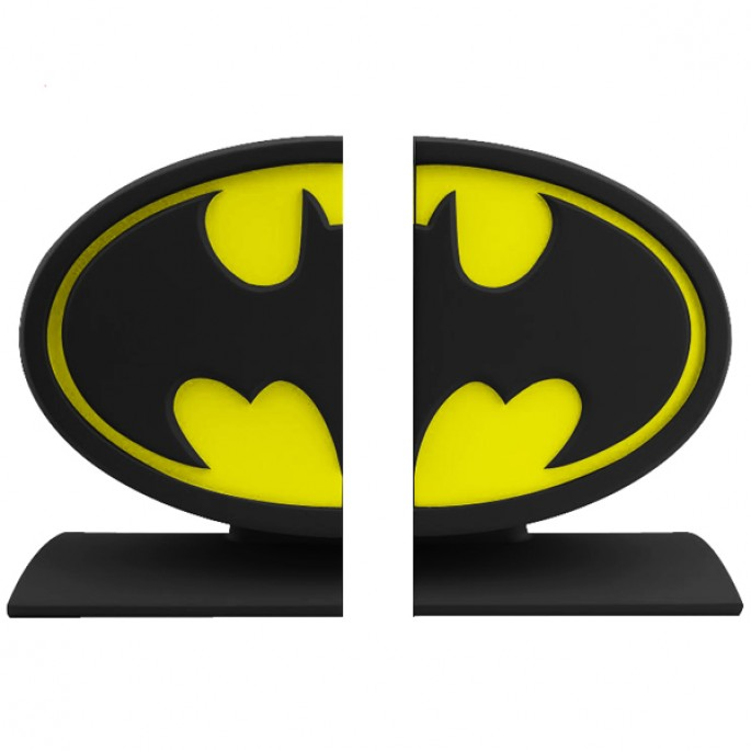 Batman Logo Bookends