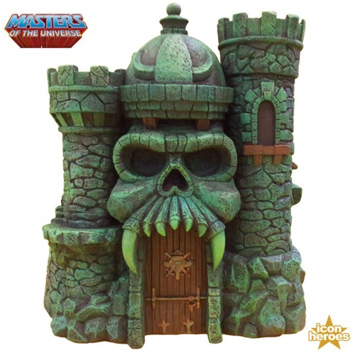 Masters of the Universe Castle Grayskull Polystone Environment