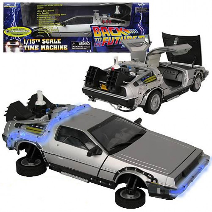 EE Exclusive Back to the Future II DeLorean Vehicle