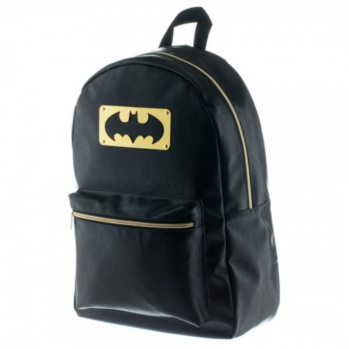 Batman Metal Plate Backpack