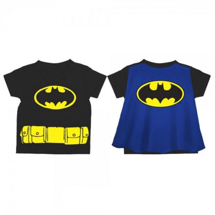 Batman Logo Toddler's Cape T-Shirt