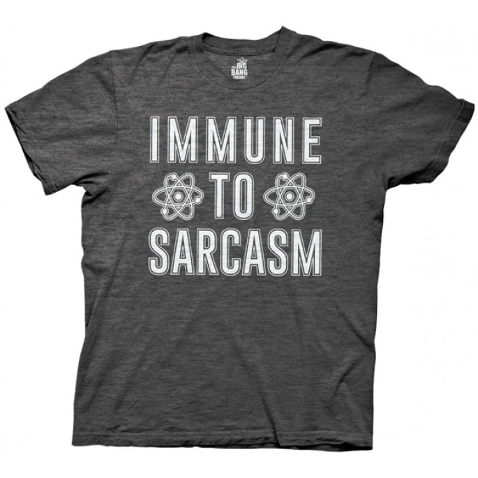 The Big Bang Theory The Big Bang Theory Immune to Sarcasm Adult T-Shirt