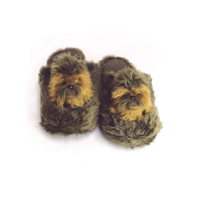Star Wars Chewbacca Plush Slippers - Large
