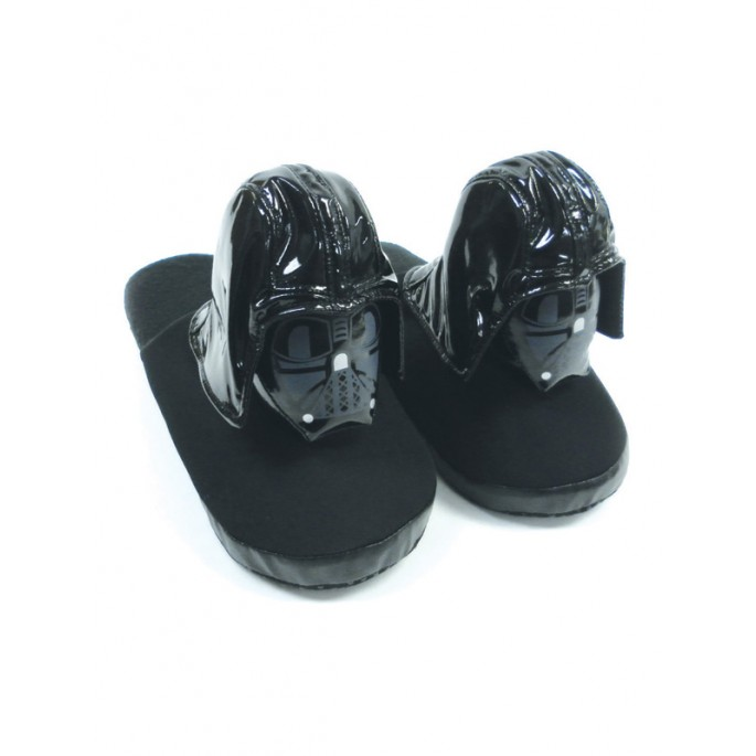 Star Wars Darth Vader Plush Slippers - Large