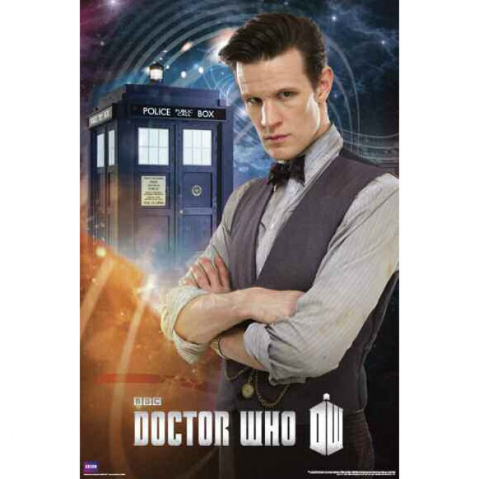 Doctor Who Eleventh Doctor (Matt Smith) Poster
