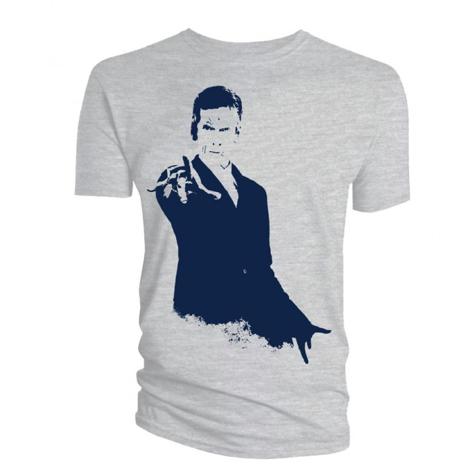 Doctor Who 12th Doctor Stencil Adult T-Shirt