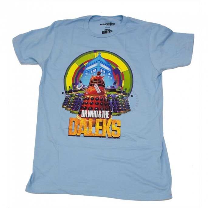 Doctor Who and The Daleks Limited Adult T-Shirt