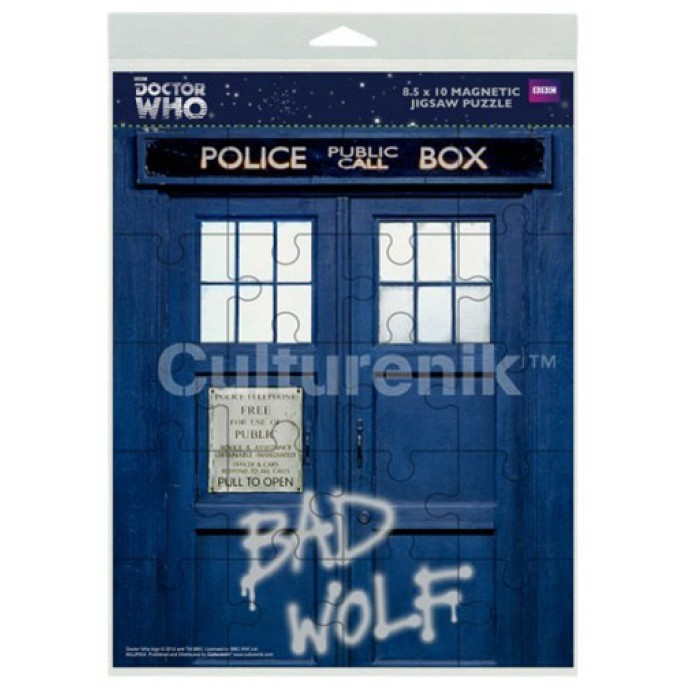 Doctor Who Bad Wolf Magnetic Jigsaw Puzzle