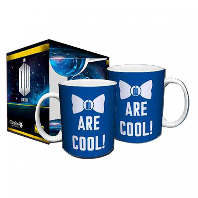 Doctor Who Bow Ties are Cool Boxed Gift Mug