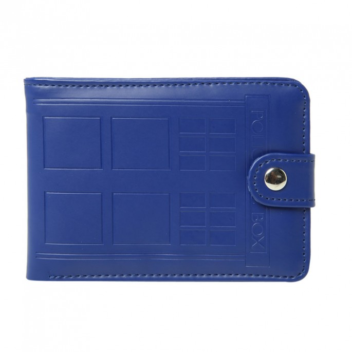 Doctor Who TARDIS Embossed Bi-Fold Wallet
