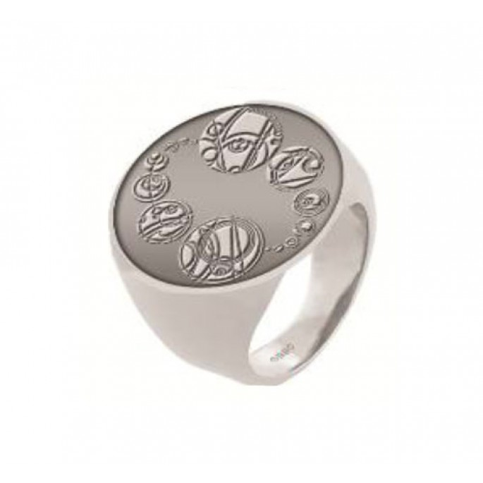 Doctor Who Masters Saxon Signet Finger Ring Size 12