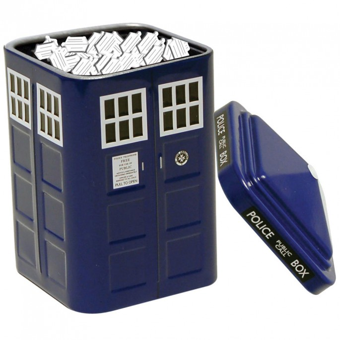 Doctor Who Tardis Tinned Mints