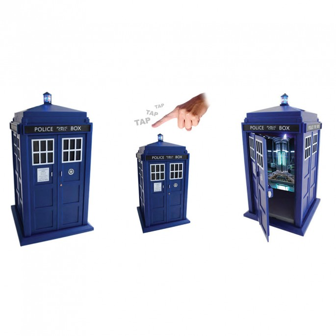 Doctor Who Tardis TapTech Safe